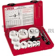 Кольцевые пилы VIRAX 19-64 мм